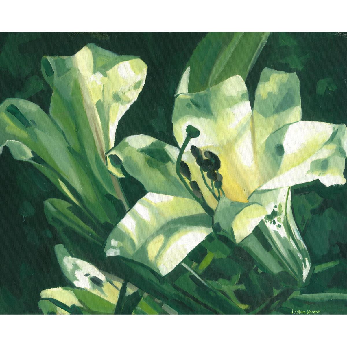 12-white-lilies