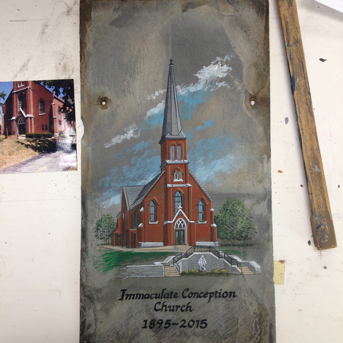 4-i-c-church-acrylic-on-roof-slate