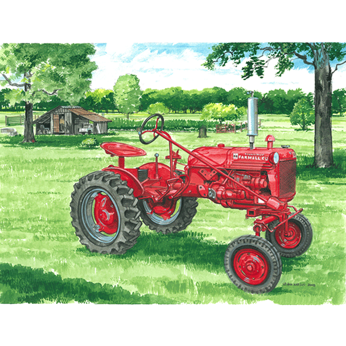 9-farmall-acrylic-wash