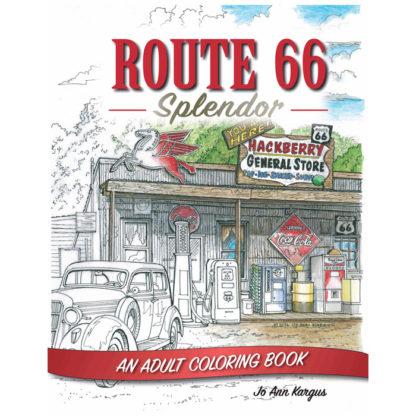 route 66 splendor coloring book